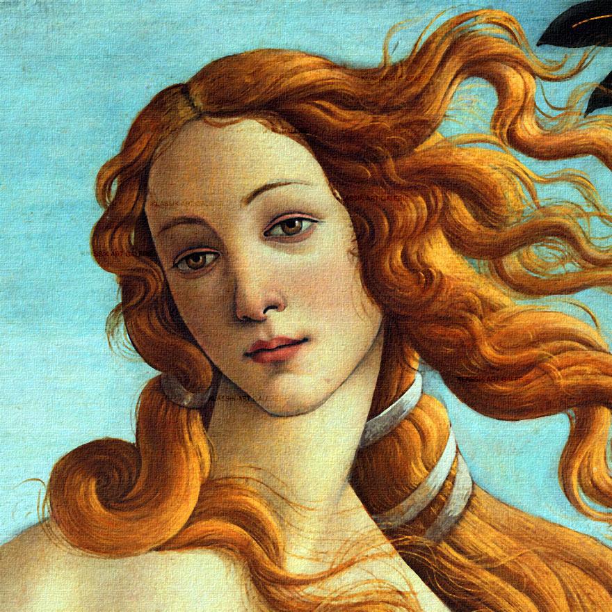 SANDRO BOTTICELLI Geburt der Venus BILD Leinwand Giclée Druck Premium Qualität | eBay