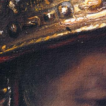 rembrandt der mann mit dem goldhelm 40x50 bild leinwand ebay. Black Bedroom Furniture Sets. Home Design Ideas