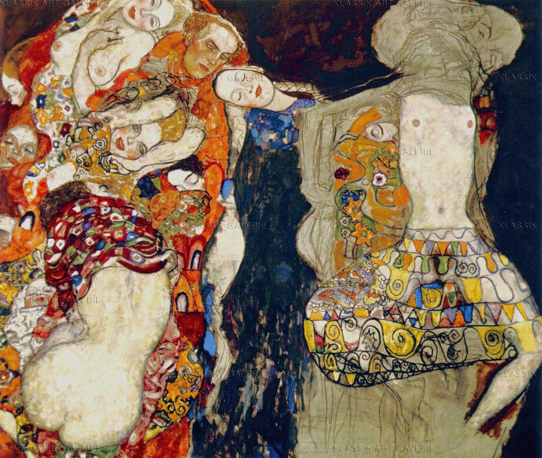 Die Braut (unvollendet), 1917/18